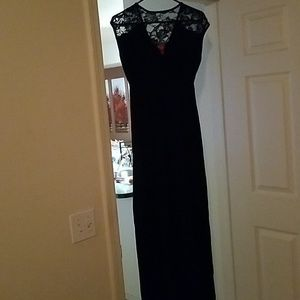 Full length maternity sundress